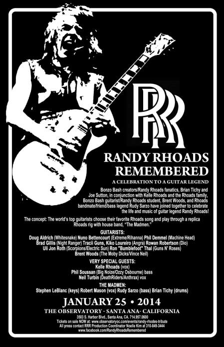Randy Rhoads Remembered Special Guest Vocalist Neil Turbin